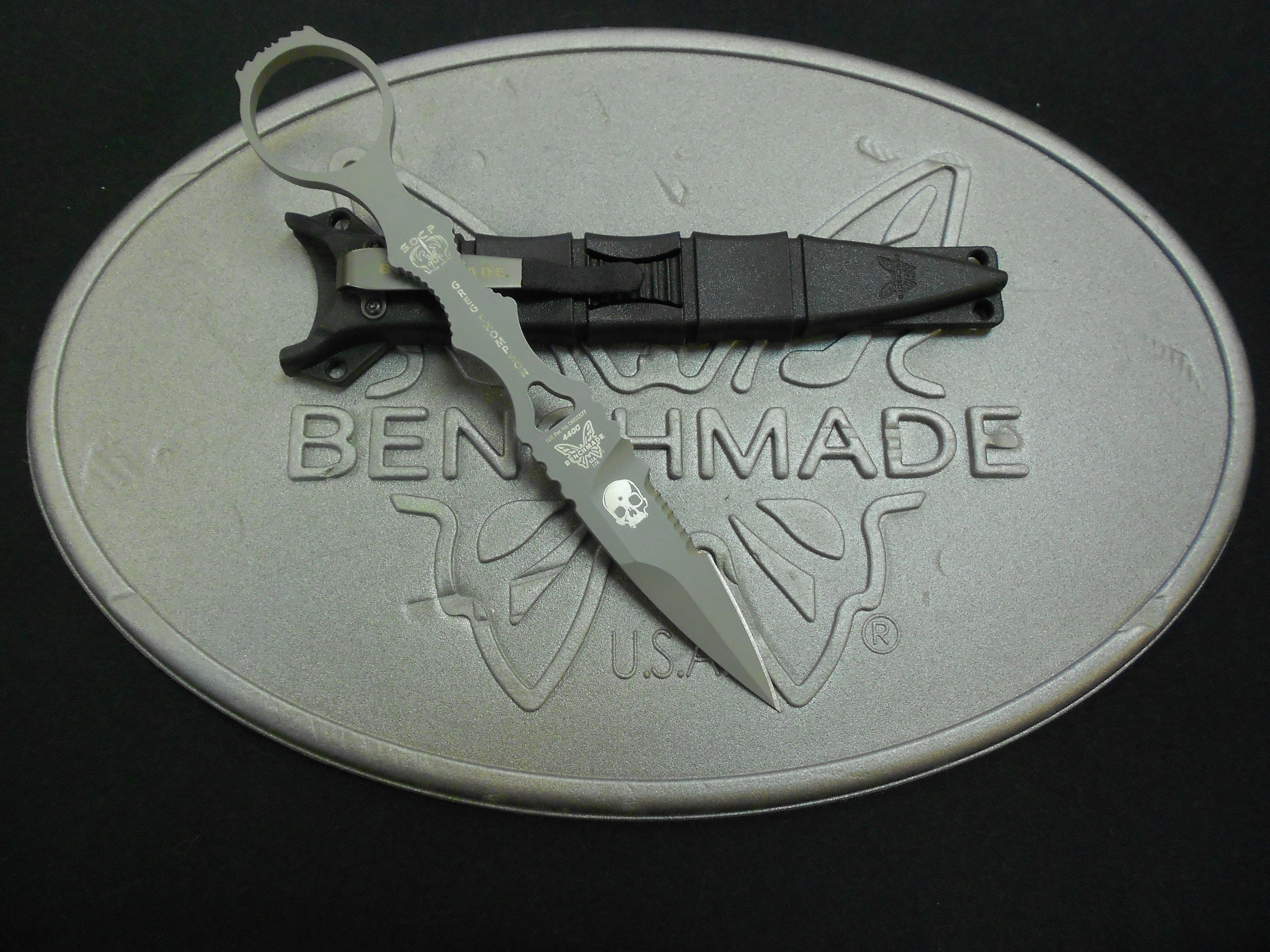 Benchmade 178SGRYAS SOCP American Sniper Knife