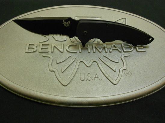 Benchmade 320SBK Precinct Flipper Knife