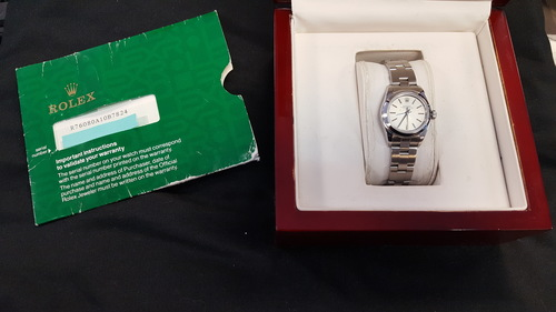 Rolex Oyster Perpetual No-Date Stainless Steel