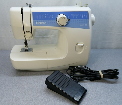 BROTHER LS40 Lightweight Portable 40 Stitch Perfect Beginners Adorable Ls2125 Brother Sewing Machine
