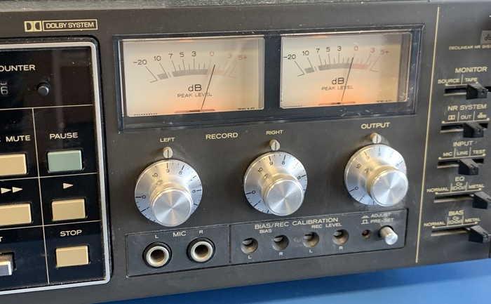 Details about TEAC C-3RX Professional Stereo Cassette Deck Serviced Rack  Mount With Manual