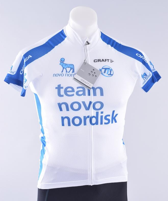 3d82ea3ec Equipo de ciclismo Novo Nordisk Pro CRAFT EBC Clásico Jersey para ...