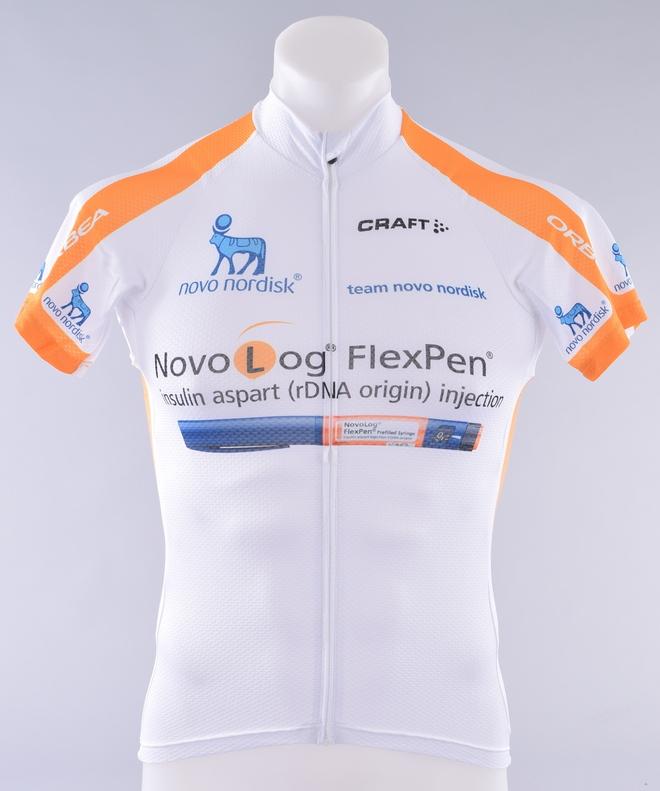 Novo Nordisk Pro Cycling Team Craft EBC Classic Jersey Men s Medium ... d7566870e