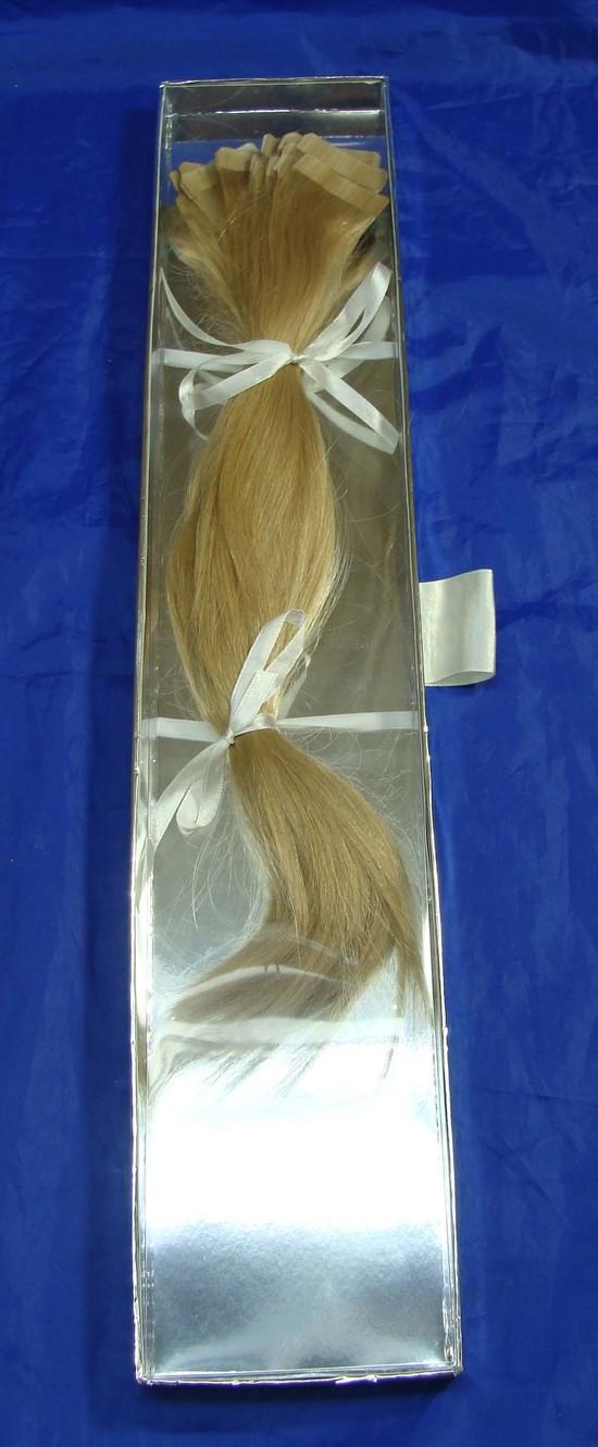 Heh House European Hair Invisi Tab 14 Virgin Hair Extensions 40 Pcs