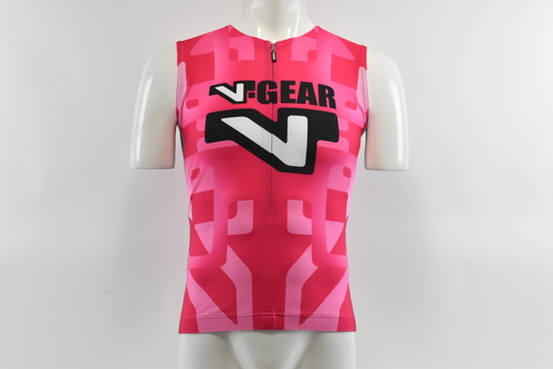 Brand New Verge Red//White Short Sleeve Cycling Jersey XL