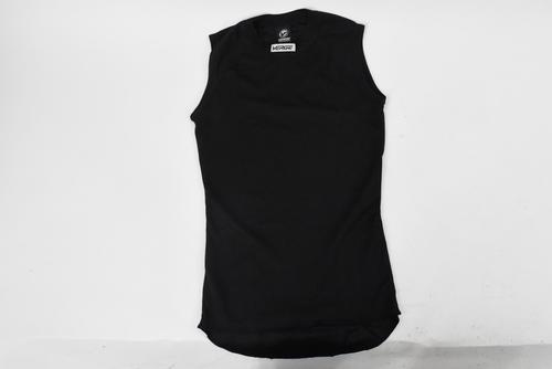 Verge Men/'s Elite Sleeveless Mock Turtleneck Base Layer Grey L NOS