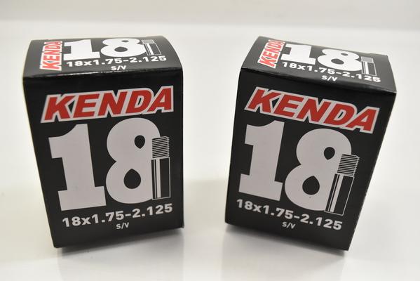 "Kenda Inner Tubes 14 x 1.75-2.125/"" Schraeder Valve Bundle of 2 NEW"