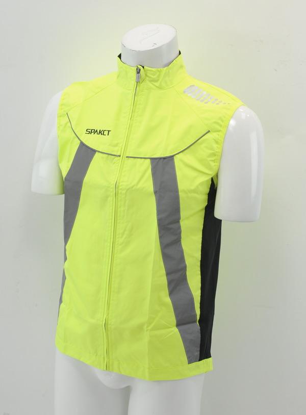 Brand New Spakct Fleece Cycling Vest Blue Medium