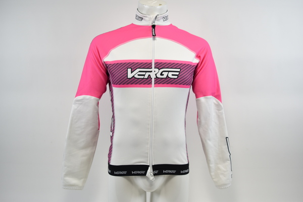 Pink//Carbon//Blk Brand New Verge Women/'s Elite Warsaw Winter Cycling Jacket Med