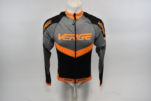 Grey//Orange Brand New Verge Men/'s S//L Running Singlet Large