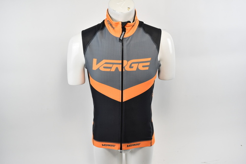 Brand New 3XL Orange//Black Verge Men/'s Cycling Wind Vest