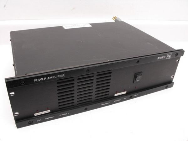 ev ap2600 power amplifier 2 channel electro voice ap 2600 ebay. Black Bedroom Furniture Sets. Home Design Ideas