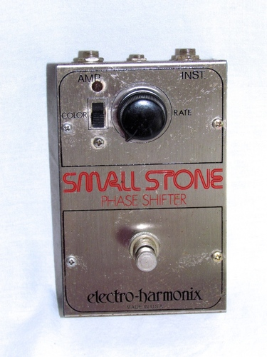 vintage electro harmonix 1975 small stone phase shifter guitar effects pedal ebay. Black Bedroom Furniture Sets. Home Design Ideas