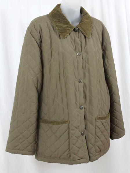 Beretta Italian Quilted Olive Khaki Women S Barn Jacket