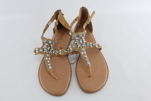 c8146adfe Torrid Women s Faux Diamond   Pearl Studded Flip Flop Sandals Shoes Size  11W NEW