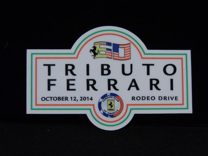 Ferrari Tributo Decal 250 275 308 365 328 Enzo Dino Daytona Testarossa Medium