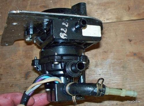 omc johnson evinrude outboard vro pump 4 wire 60 70 hp. Black Bedroom Furniture Sets. Home Design Ideas