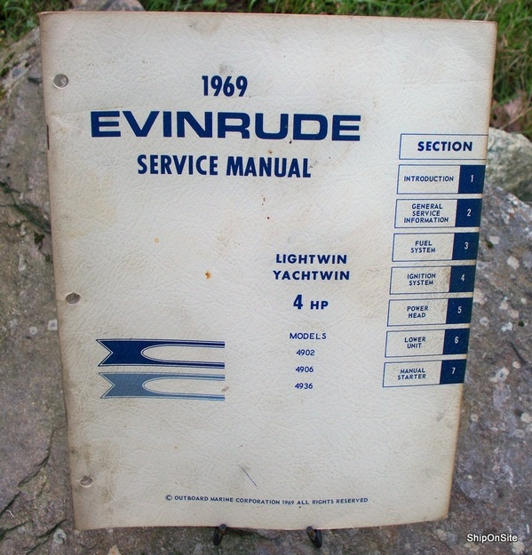 Evinrude 4 Hp Service manual
