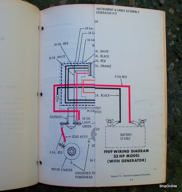 1969 evinrude 33 hp ski twin outboard motor service manual ebay rh ebay com Evinrude 25 HP 33 HP Evinrude Fuel Pump