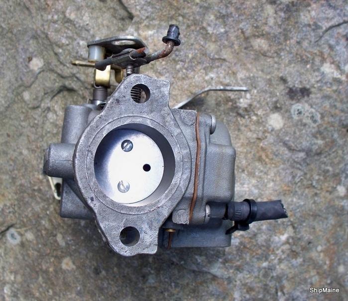 1970 39 S Johnson Evinrude 25 Hp Outboard Motor Carburetor