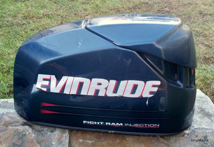 2002 2003 Evinrude Ficht 75 90 115 Hp Outboard Motor Cover