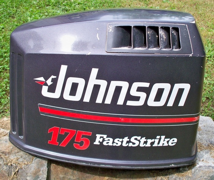1991 Johnson Evinrude 150 175 HP (GL) Outboard Motor Hood Cover