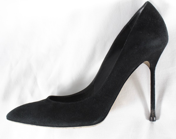 best value buying new hot sales Details about SERGIO ROSSI -$630 BLACK SUEDE