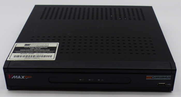 Digital Watchdog VMax Flex DW-VF4 500G 4 Channel H.264 DVR ...