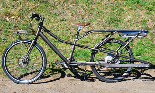 Trek Transport Plus Electric Cargo Bike 17in Medium Urban