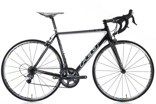 2011 Felt F4 Road Bike 56cm Large Carbon Shimano Ultegra