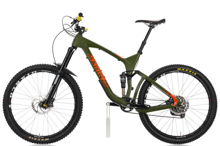 2016 Marin Attack Trail Pro Full Suspension Mountain Bike