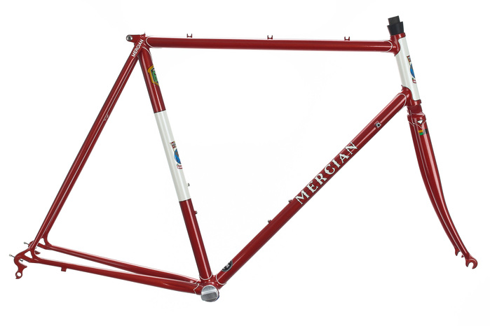 Mercian Road Bike Frame Set 57cm Large Lugged Steel