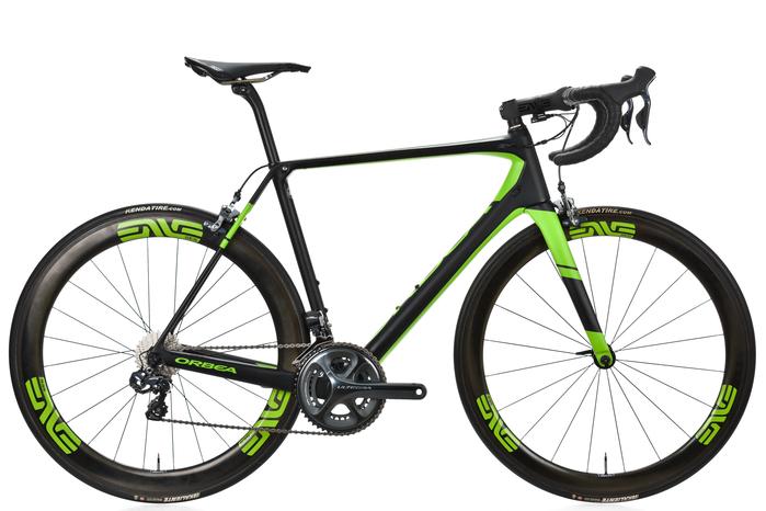 2017 Orbea Orca M20i Team Road Bike 55cm Carbon Shimano Ultegra