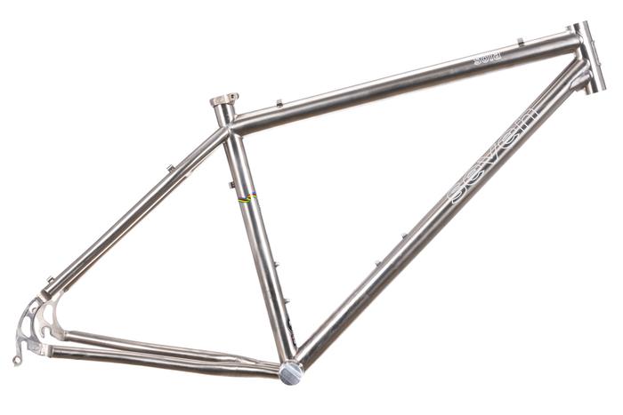 Seven Sola 650b Titanium Mountain Bike Frame 18in MEDIUM | eBay