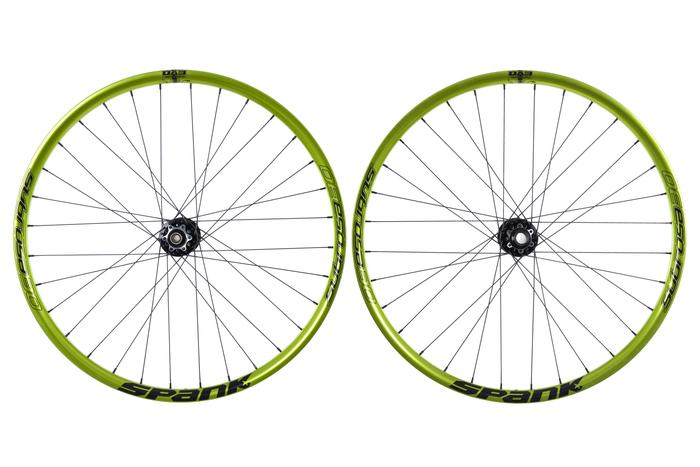 Spank subrosa wheelset
