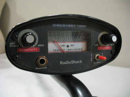 Ny State Tax Calculator >> Radio Shack Discovery 1000 Three-Mode Discriminator Metal Detector | eBay