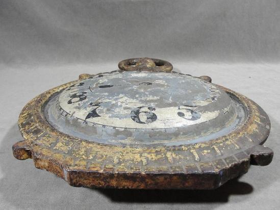 19thC Antique Victorian Cast Iron & Zinc Watchmaker's ...