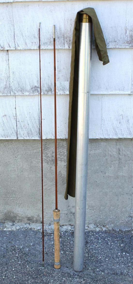 Vintage 6ft Orvis Superlight Impregnated Spinning Bamboo