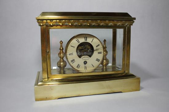 Rare Antique 1880s Harvard Clock Company Bronze Desk