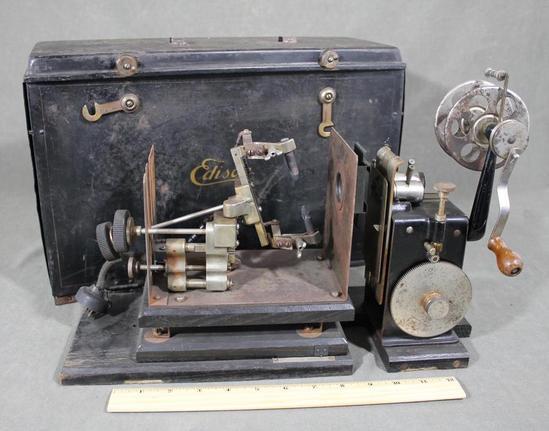 Edison kinetoscope ebay