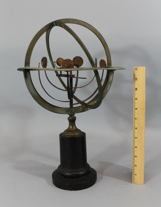 Antique 1850s French Maison Delamarche Copernican