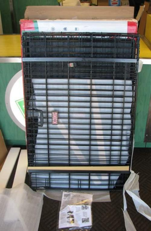 Kong At Home Ultra Strong Double Door Crate Cage Large 43