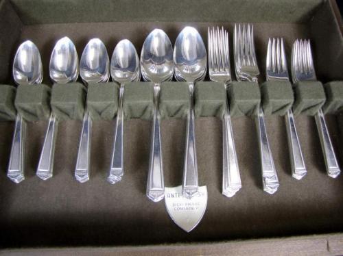 1847 Rogers Bros Is Silverplate Flatware 1947 Anniversary