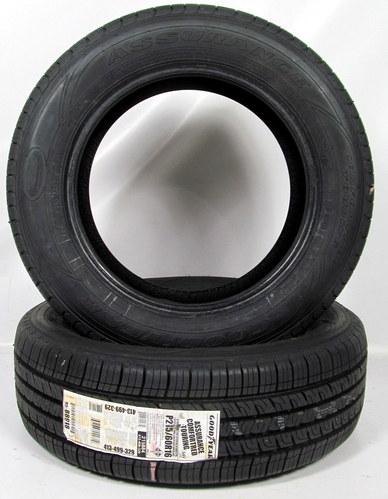 2 new goodyear assurance comfortread touring 94v tires. Black Bedroom Furniture Sets. Home Design Ideas