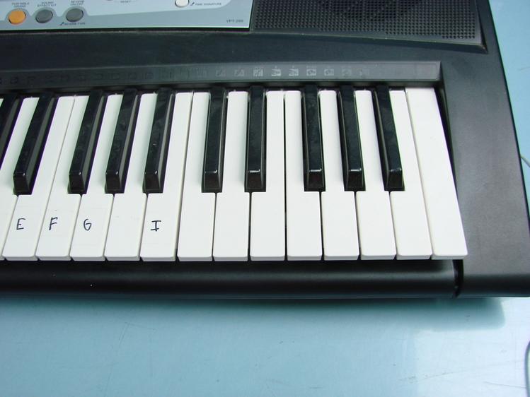 yamaha portatone psr e203 ypt 200 piano el ctrico teclado. Black Bedroom Furniture Sets. Home Design Ideas