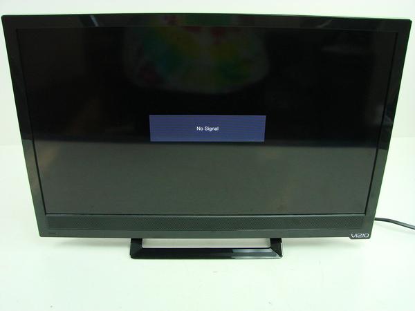 vizio tv flatscreen television e231 b1 23 w stand led lcd hdmi input usb 845226010415 ebay. Black Bedroom Furniture Sets. Home Design Ideas