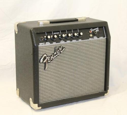 fender frontman 15g guitar practice amp amplifier ebay. Black Bedroom Furniture Sets. Home Design Ideas