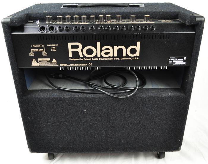 roland kc500 stereo mixing keyboard amplifier speaker 15 150 watt ebay. Black Bedroom Furniture Sets. Home Design Ideas