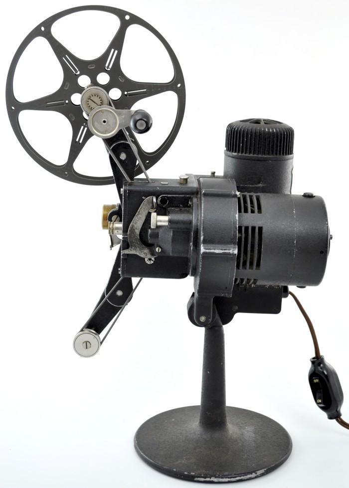 16mm Reel Movie Projectors: VINTAGE BELL HOWELL FILMO CINEMACHINERY PROJECTOR CINE