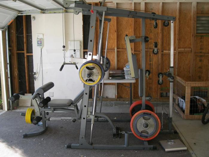 Impex Powerhouse Elite Phe 9000 Smith Machine Home Gym